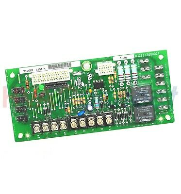 Luxaire York Coleman Furnace Circuit Control Board 03101237000 031-01237-000
