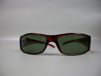 Vintage Plastic Ladies Womens Dior Sunglasses Red Plastic Frame Secondhand USA A