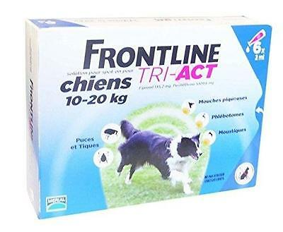Merial Frontline Tri Act Chien M 10-20 Kg 6 Pipettes