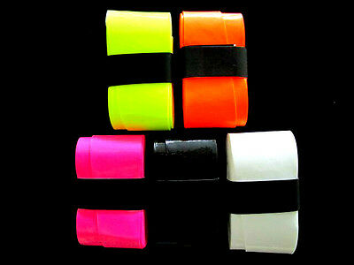 5 Mixed Color Replacement Overgrips over grip tennis Wilson Babolat Prince Head