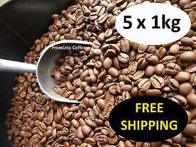 5 x 1kg Organic Blend Coffee. 2 Medals. By Premiato Coffee.  Free Ship & 15% off