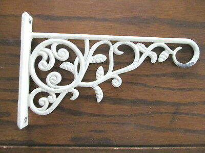 Vintage Ornate Wall Hook Hanger Plant Patio Garden Wind Chime Bird cage Light