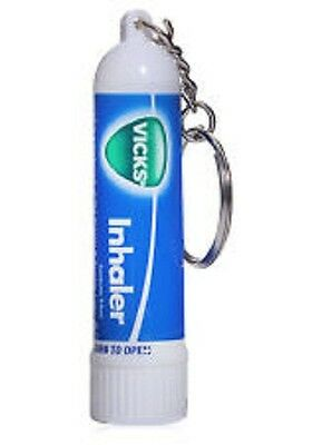 Vicks Inhaler with Key Chain 0.5 ML. X 4 Pcs.