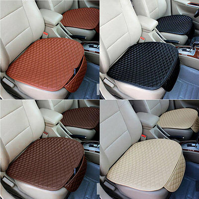 Car Front Seat Cushion Universal Pad Comfort Soft Free Tied Seat Covers JL