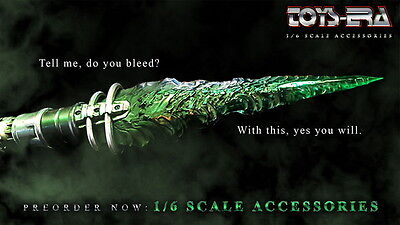 ToysEra 1/6 Scale Kryptonite Spear w/ light up function