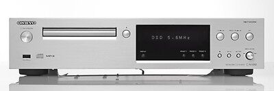 New Onkyo Network CD Player Hi-Res Sound Source Corresponding Silver C-N7050 (S)
