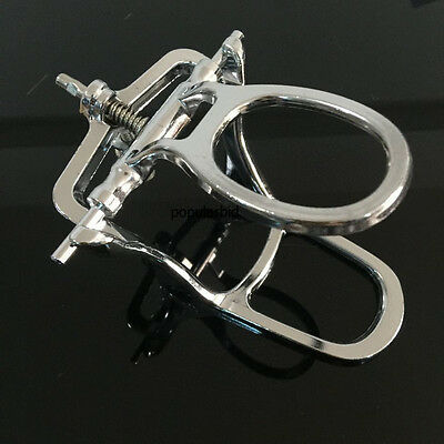 Dental Lab Articulator Chrome Plated Full High Arch Adjustable L Size