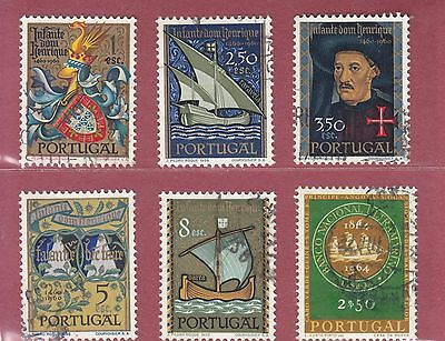 Portugal 1960/64  6  Stamps One Used