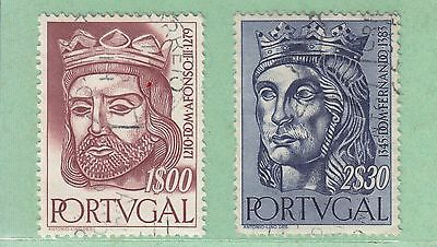 Portugal 1955 2 Used Stamps
