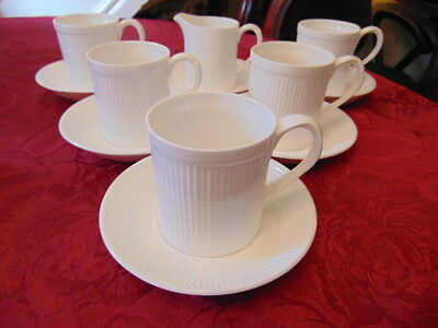 Crown Staffordshire Reproduction Coffee Set (12 Pieces) Very Good Condition