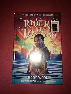 Signed Rivers Of London Body Work Graphic Novel 500/1000 HB