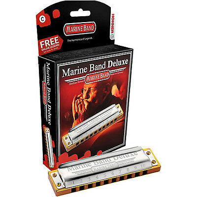 Marine Band Deluxe A Hohner
