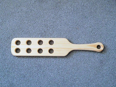 "US Style 18"" x 4"" Punishment Paddle with holes (cane)"