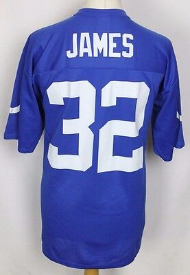 James #32 Vintage Indianapolis Colts American Football Jersey Nfl Mens Large