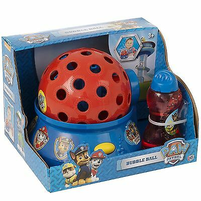 Paw Patrol Bubble Ball Kids Childrens Colourful Bubbles Activity Toy Game Gift
