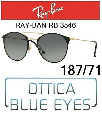 Occhiali da Sole RAYBAN 3546 187 71 Sunglasses Ray Ban Vintage Double  Bridge new d8bf4fb16afe