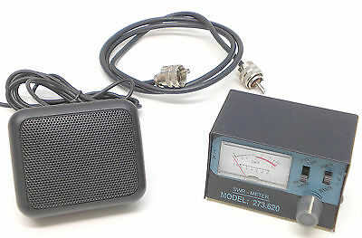 Cb Radio Accessories, Zetagi R10 & Cables, Swr Pwr Meter, Patch Lead, Ext Spkr,