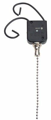 Gardner Bender GSW-35 Nick Pull Chain Switch,All Angle Pull, 6A 125VAC,Sngle