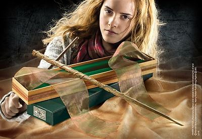 Harry Potter Hermione Granger Wand In Ollivanders Box Noble Collection Gift Prop