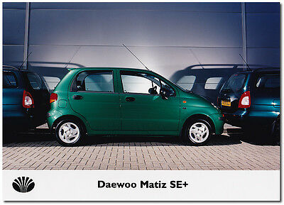 Daewoo Matiz SE+ Press Release Photograph