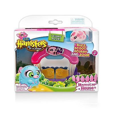 Zuru Hamsters in a House Little Playset Childrens Fun Toy Activity Play Gift Set