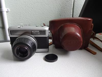 Vintage Carl Zeiss Jena Werra 35 Mm Film Camera