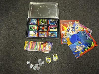 Jackie Chan Adventures: 333 Trading Cards, 18 Talisman Tokens & 3 Posters