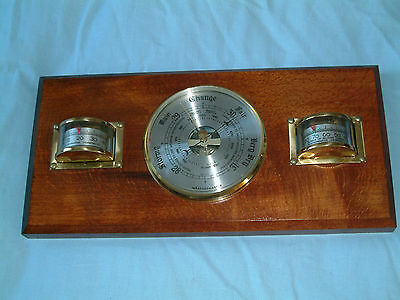 QUALITY Vintage WEATHERMASTER Scientific BAROMETER THERMOMETER HYGROMETER