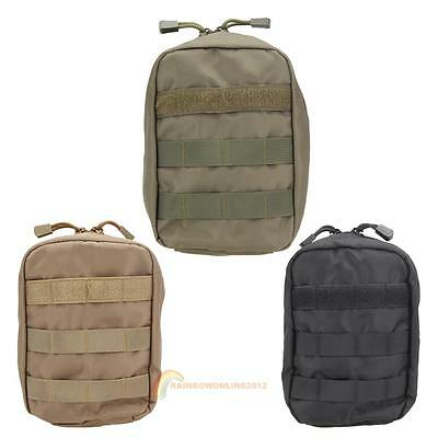First Aid Bag Tactical Molle Medical EMT Pouch Outdoor Emergency Military Bag
