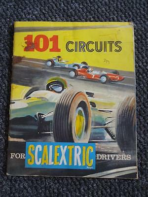 Vintage 1960's Scalextric Catalogue 101 Circuits For Scalextric Drivers
