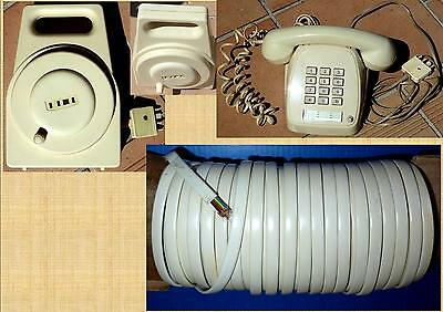 Push Button Telephone Retro 800 Series With 15M Extension + 20M Cable