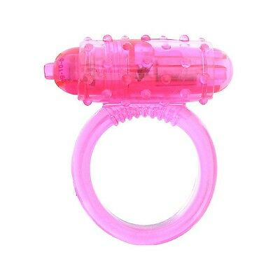 VIBRATING COCKRING SILICONE PINK // Ref: 3000008597