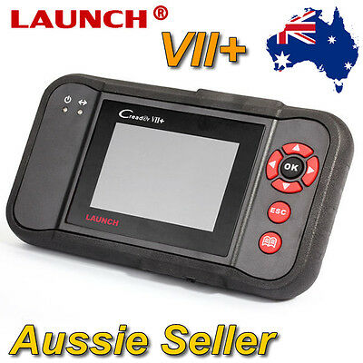 Launch Creader VII+ OBD2 Auto Diagnostic Scan Tool Engine SRS ABS Transmission