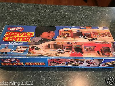Vintage 1979 Hot Wheels Service Center *** BOX ONLY *** Very Rare..!!