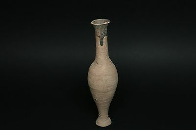 Ancient Hellenistic Spindle Jar (Piriform Aryballos) 300 B.c. Antiquity