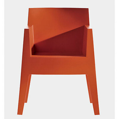 Philippe Starck Driade Toy Chair (Terracotta Red) Set Of 4 GREAT PRICE RRP £648