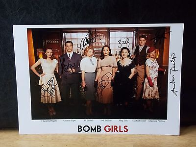 Bomb Girls Autographed Picture