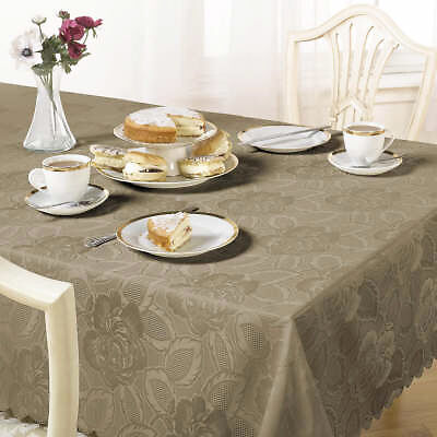 Emma Barclay Damask Rose Tablecloth in Multiple Colours/Size