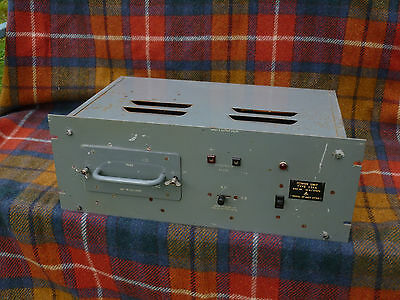 Power Supply Unit 234A Military Receiver Ham Radio Communications Receiver 1953