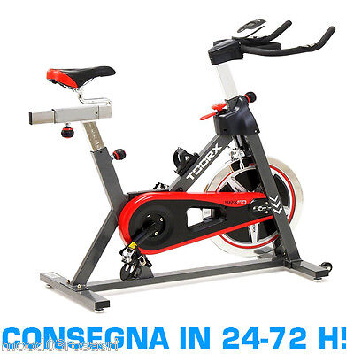 TOORX SRX-50 Bici da Indoor Cycling Cycle Cycles Home Speed Gym Bike Volano 20kg