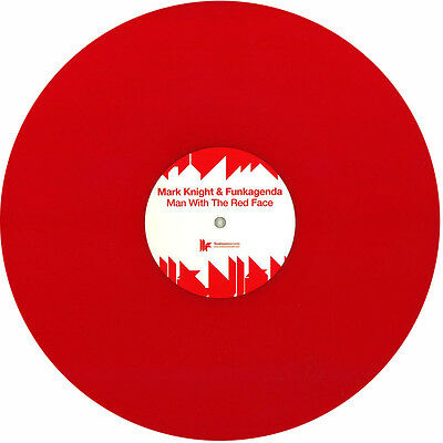 MARK KNIGHT & FUNKAGENDA - Man With The Red Face / Red Vinyl