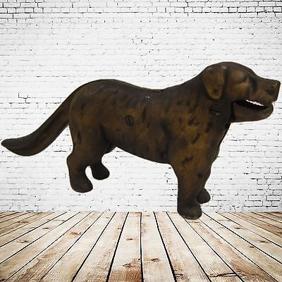 Nussknacker Hund Figur Briefbeschwerer Advent Weihnachten Antikdesign Vintage