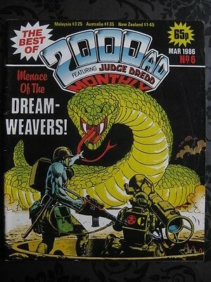 The Best Of 2000 AD Featuring JUDGE DREDD Monthly Mar 1986