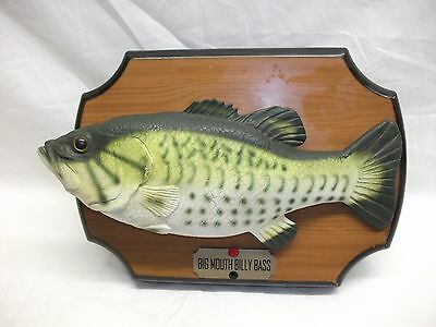 Big Mouth Billy Bass Motion Activated Mounted Singing Fish