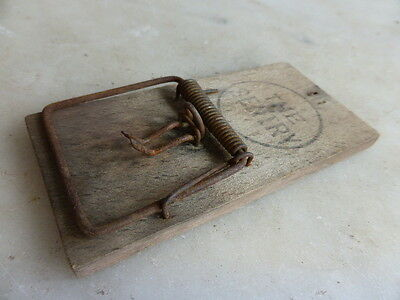 Antique wooden mousetrap The Sentry