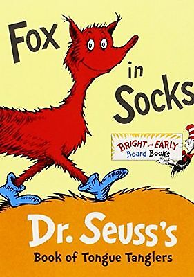 Fox in Socks: Dr. Seuss's Book of Tongue Tanglers New
