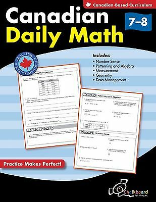 Canadian Daily Math Grades 7-8 New