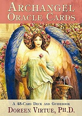 Archangel Oracle Cards: A 45 Card Deck and Guidebook New