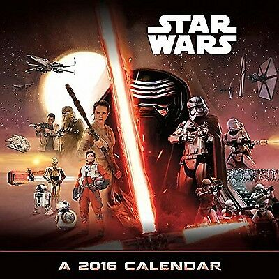 Star Wars Episode VII 2016 Deluxe Calendar New