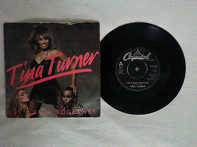 TINA TURNER - Let's Stay Together SP / Christmas Gift
